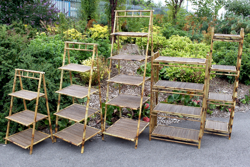 bamboo display stands wholesale
