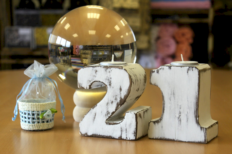 Wholesale Wooden Birthday Numbers