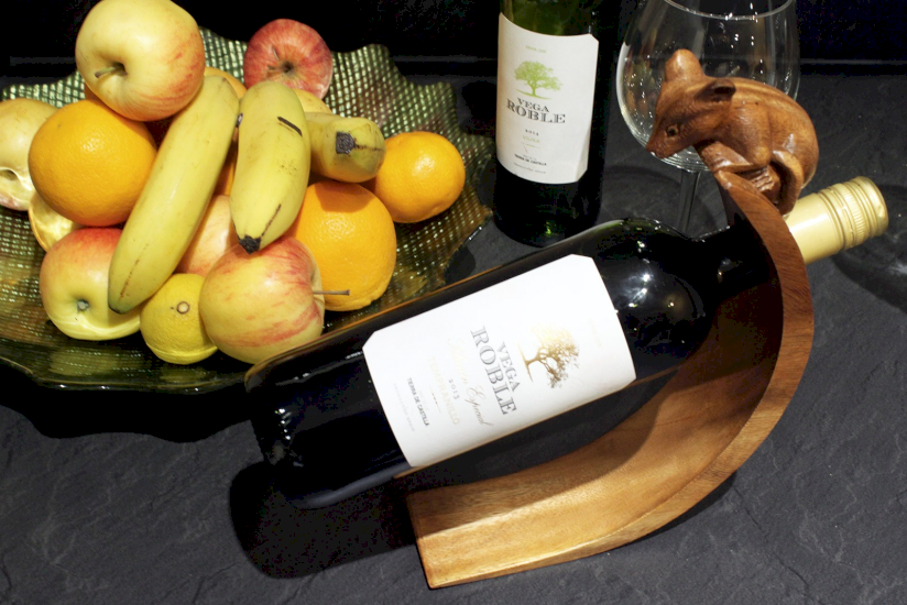 Wholesale Wooden Balancing Wine Bottle Holders