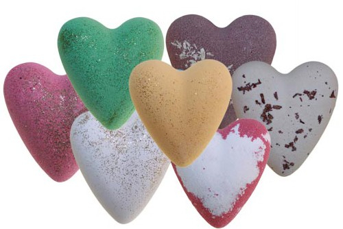 Wholesale Megafizz Bath Hearts