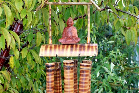 Wholesale Bamboo Mountain Wind Chimes