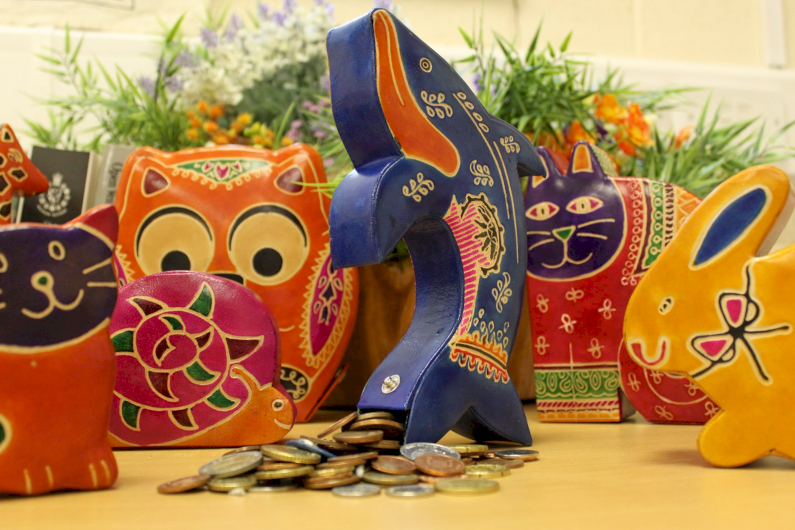 Handmade Leather Moneyboxes - Ancient Wisdom Wholesale