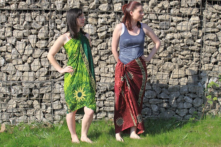 Bali Cool- Celtic Inspired Sarongs
