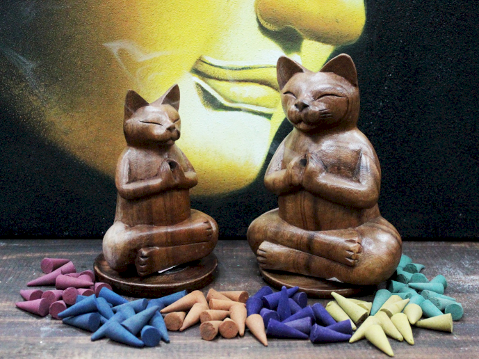 wholesale Wooden Carved Incense Burners