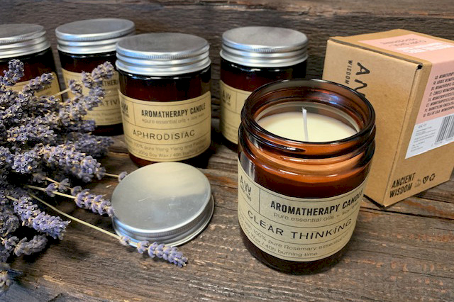 aromatherapy soy wax candles wholesale