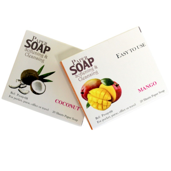 wholesale pocket paper soap